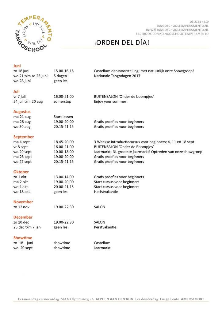 Agenda '1706